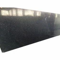 Polished Steel Grey Dark Granite Slabs