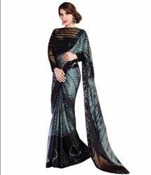 Ladies Cotton Designer Saree with Blouse