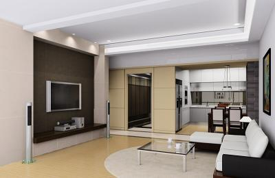 Residential Interior Designing Services - Living Room Interior ...