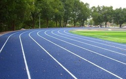 Running Track Rubber Flooring