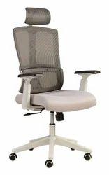 High Back Executive Mesh Chair (White)