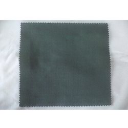 Cotton Polyester Fabric, Plain/Solids, Gray