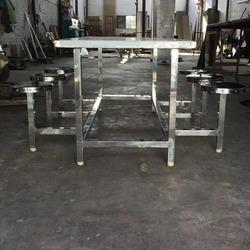 Canteen Stainless Steel Rectangular Table