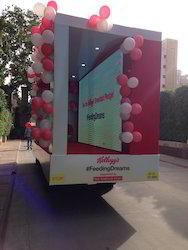 Mobile Van Biggest/ Truck-mount/ Tata Ace Led Screen Canter