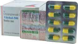 Chloramphenicol 500 mg Capsule