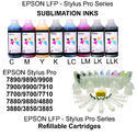 Inks For Epson LFP Pro 3885