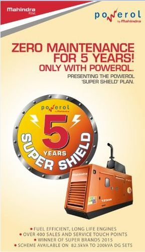 Mahindra Power 5 Years Super Shield Diesel Generators | ID