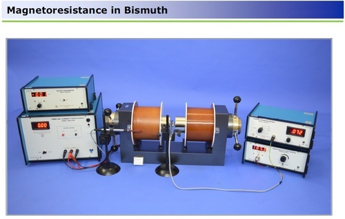Measurement Of Magneto Resistance In Bismuth