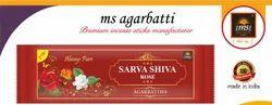 Sarva Shiva  Rose Premium Incense Sticks