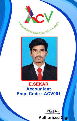 Office Id Card At Rs  Piece  Office Id Card  Id