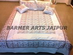 Bed Cover Embroidery Work