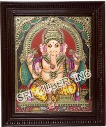 Ganapathy Tanjore Paintings