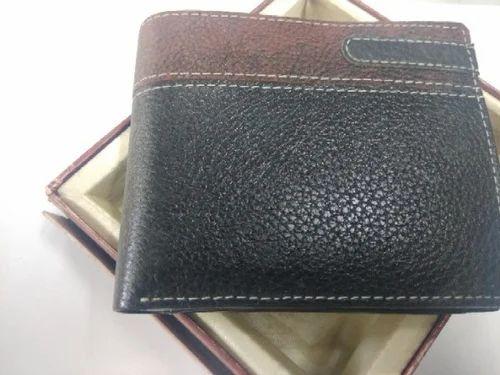 8eef8afb02c02 Revo Black   Brown Pure Leather Mens Wallet