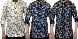 Cotton Men Casual Shirt
