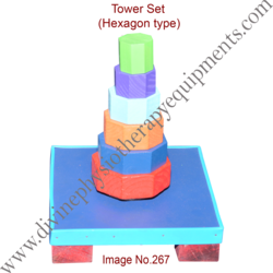 Tower Set Hexagon