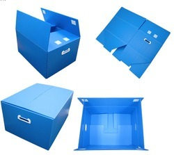 Corrugated Plastic Box, Capacity: 11-20 kg
