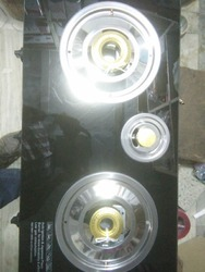3 Burner LPG Glass Stove