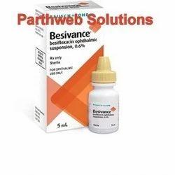 Besivance (Besifloxacin Ophthalmic Suspension Eye Drop)