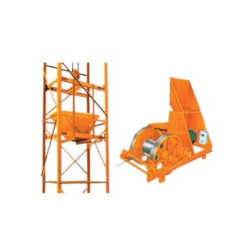 Electric Tower Hoist, Capacity: 1000 Kg