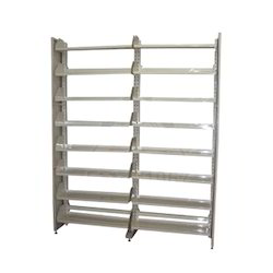 Double Side Library Rack
