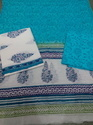 Hand Block Printed Unstitched Suits