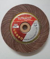 Ultracut Aluminium Oxide Coated Abrasive Flap Wheel, Grit: 60 To 600, Packaging Size: 40 Pcs
