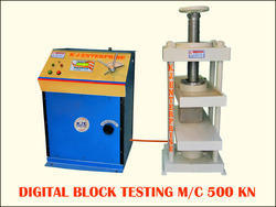 Digital Paver Block Testing Machine
