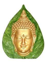 Marble Buddha Face Statue
