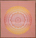 Indian Ombre Mandala Tapestry Cotton Wall Hanging