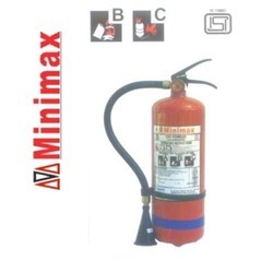 Red Mild Steel Minimax Mobile Fire Extinguishers, Capacity: 2Kg