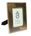 Brass Fitted Wooden Photo Frame (6X8)