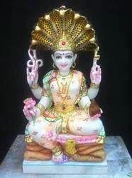 Marble Padmawati Pratima Statue