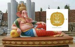 Fiber Ganesha Statue 8'
