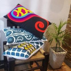 Embroidered Cushion Cases