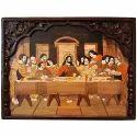 Matte Kalaplanet Rosewood Jesus Dining Painting
