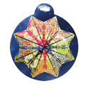 Set Of Eight Mini Stars- Packed In Round Pack Size 4.5 Inch