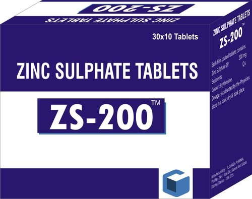 Zinc Sulphate 200 Tablet Usage Commercial Clinical Reselling Rs
