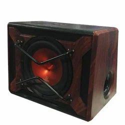 Maroon Fancy Car Bass Tube Speaker, For Automobile Industry