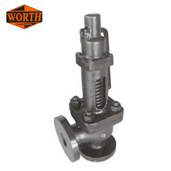 Cast Steel Spring Loaded Safety Valve