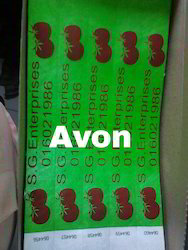 Avon Healthcare Printed Wristband, Size: 1 Inch X 10 Inchh