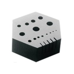 Riveting Hole Plate (Hexagonal)