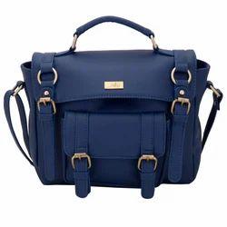 Blue Sachel Bag