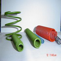 PTFE / Fluoropolymer Coated Spring for Corrosion Resistance
