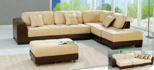 L Type Movable Sofa Set