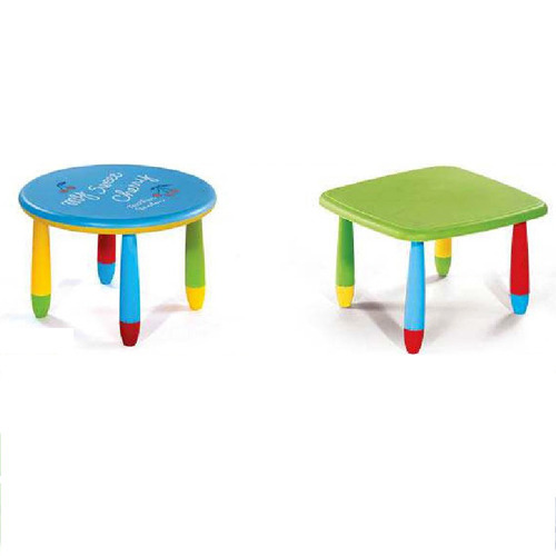 Play School Furniture   Children Round Table Set Manufacturer From  Aurangabad
