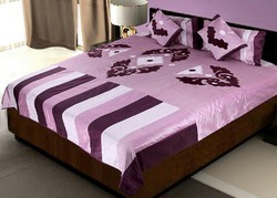 Silk Bedcover Cushion n Pillow Covers Set 420