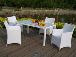 Rattan Outdoor Table