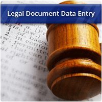 Data Entry From Legal Documents