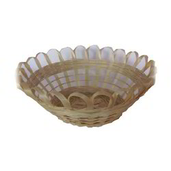 Bamboo Design Basket