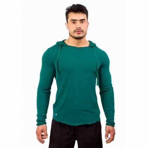 957f2df2f96b Mens Green Summer Hoody